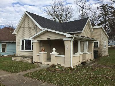 Hancock County Single Family Home For Sale: 410 Meridian Street