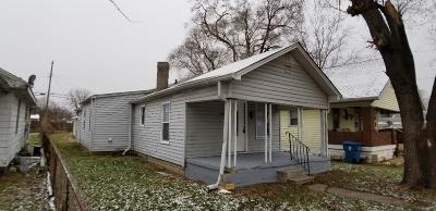 Indianapolis Single Family Home For Sale: 3306 Mars Hill Street