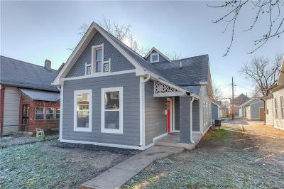 Indianapolis Single Family Home For Sale: 723 East Minnesota Street