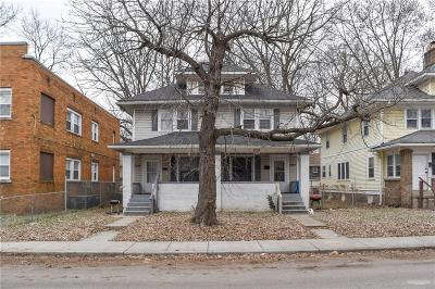 Indianapolis Multi Family Home For Sale: 3626 Birchwood Avenue