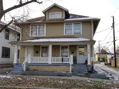 Indianapolis Multi Family Home For Sale: 308 North Riley Avenue