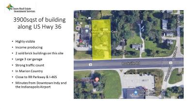 Indianapolis Commercial For Sale: 8850 Us Hwy 36 Highway E