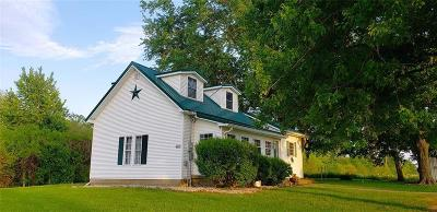 Henry County Single Family Home For Sale: 9601 West County Road 400 N