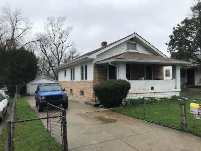 Indianapolis Single Family Home For Sale: 3460 Forest Manor Avenue