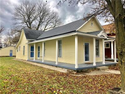 Indianapolis Single Family Home For Sale: 621 East McCarty Street