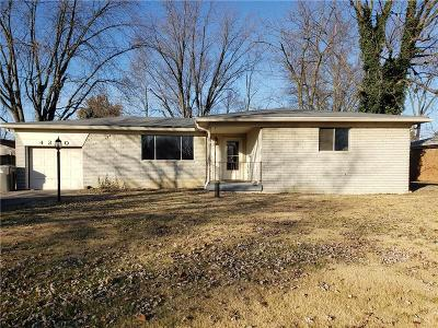 Indianapolis IN Single Family Home For Sale: $117,500