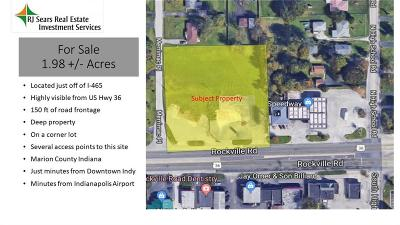 Indianapolis Commercial Lots & Land For Sale: 6380 Rockville Road