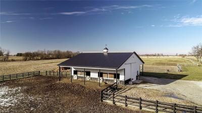 Whitestown Farm For Sale: 9196 East 300 N