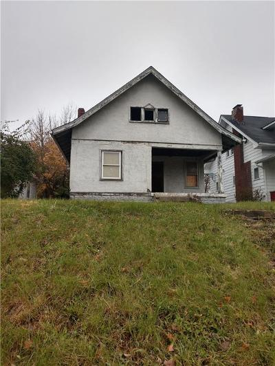 Indianapolis Single Family Home For Sale: 340 West 38th Street
