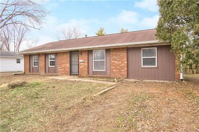 Indianapolis Single Family Home For Sale: 4144 Mellis Drive
