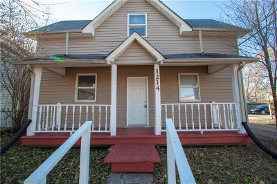Indianapolis Single Family Home For Sale: 1214 South Sheffield Avenue