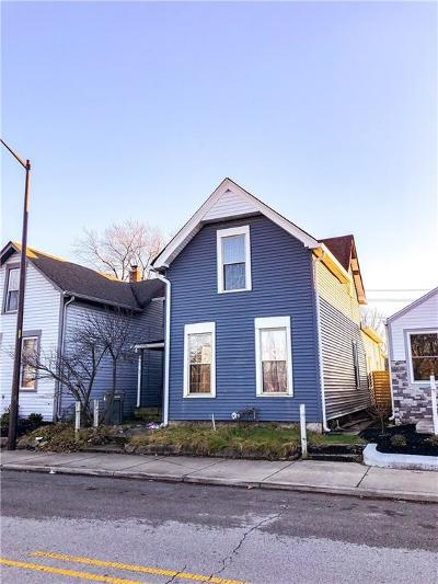 Indianapolis Single Family Home For Sale: 361 East Morris Street