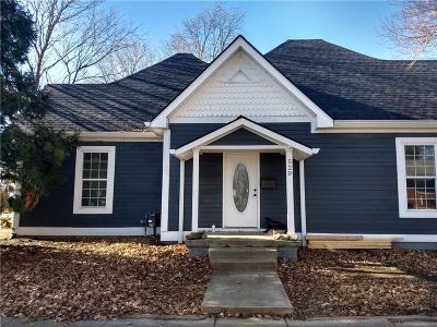 Fortville Single Family Home For Sale: 520 South Merrill Street