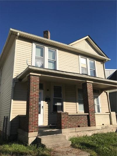 Indianapolis Multi Family Home For Sale: 1329 South East Street