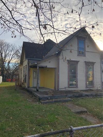 Indianapolis Single Family Home For Auction: 1425 Spann Avenue