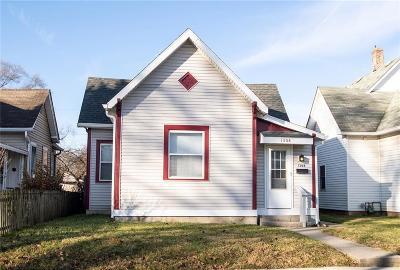 Indianapolis Single Family Home For Sale: 1308 Villa Avenue