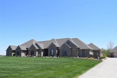 Delaware County Single Family Home For Sale: 18910 North Willman Road