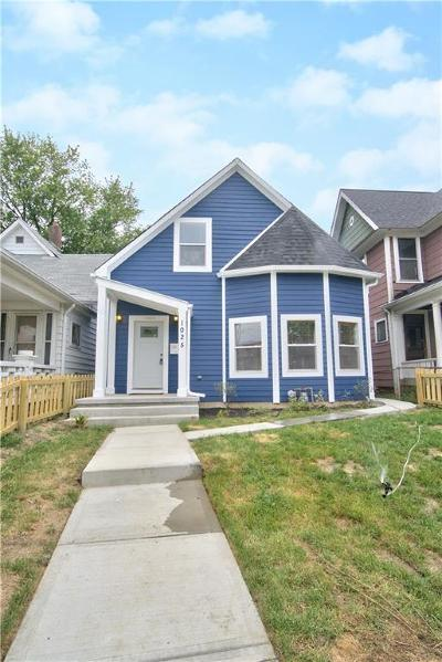 Indianapolis Single Family Home For Auction: 1025 Dawson Street