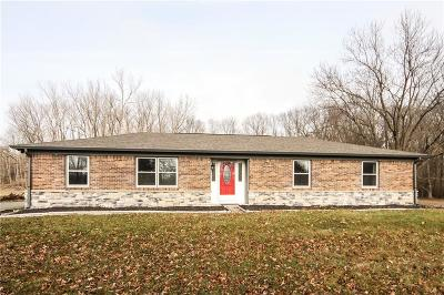 Boone County Single Family Home For Sale: 11080 East 550 S