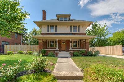 Single Family Home For Sale: 3728 North Delaware Street