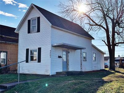 Madison County Single Family Home For Sale: 2405 South A Street