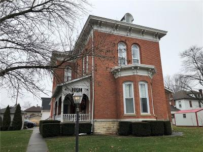 Rushville IN Single Family Home For Sale: $305,000