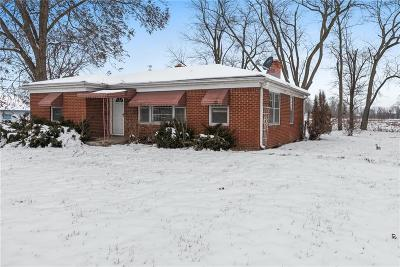 Indianapolis Single Family Home For Sale: 1424 West Epler Avenue