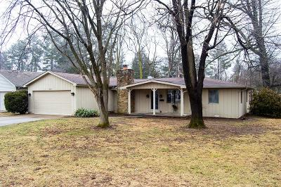 Columbus Single Family Home For Sale: 3219 Sycamore Drive