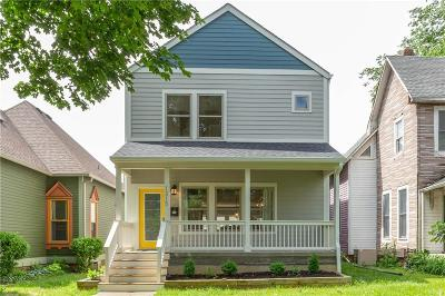 Marion County Single Family Home For Sale: 1315 Sturm Avenue