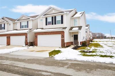 Noblesville Condo/Townhouse For Sale: 9691 Prairie Smoke Drive