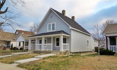 Indianapolis Multi Family Home For Auction: 1027-1029 Saint Paul Street