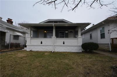 Indianapolis Multi Family Home For Sale: 807 North Linwood Avenue