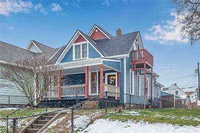 Indianapolis Single Family Home For Sale: 730 Weghorst Street