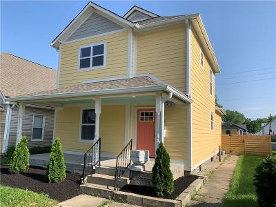 Single Family Home For Sale: 818 Lincoln Street