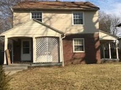 Indianapolis Single Family Home For Sale: 3509 Guilford Avenue