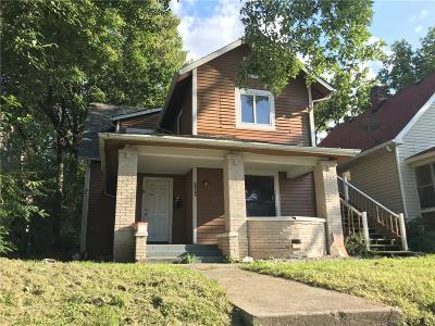 Indianapolis Multi Family Home For Sale: 2249 Brookside Avenue
