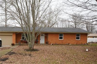 Martinsville Single Family Home For Sale: 3565 Barbara Street