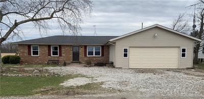 Clinton County Single Family Home For Sale: 7289 East County Road 580 S
