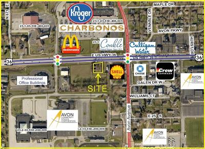 Avon Commercial Lots & Land For Sale: 6961 U.s. Highway 36