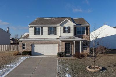 Fishers Single Family Home For Sale: 12858 Touchdown Drive