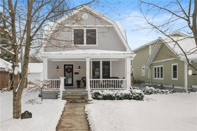 Indianapolis Single Family Home For Sale: 213 East 51st Street