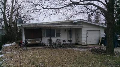 Delaware County Single Family Home For Sale: 6117 West Taylor Road