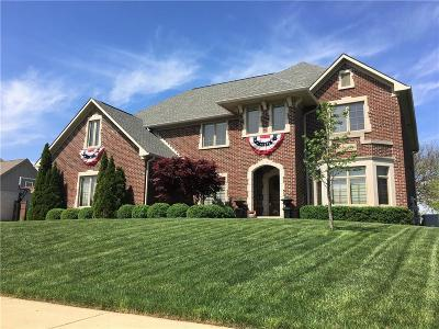Plainfield IN Single Family Home For Sale: $537,000