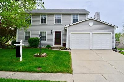 Fishers Single Family Home For Sale: 7664 Madden Place