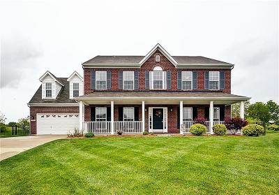 Bargersville Single Family Home For Sale: 3321 Glenwillow Court