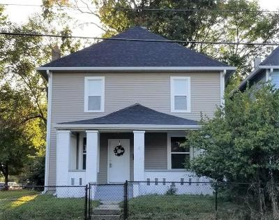 Indianapolis Single Family Home For Sale: 1108 North Rural Street