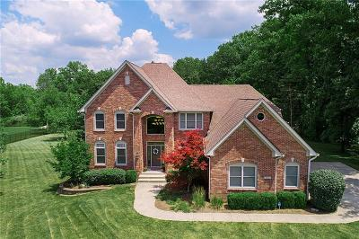 Indianapolis Single Family Home For Sale: 8545 Mud Creek Road