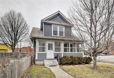 Indianapolis Single Family Home For Sale: 1028 East Morris Street
