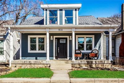 Indianapolis Single Family Home For Sale: 1826 Woodlawn Avenue