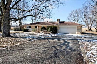Brownsburg Single Family Home For Sale: 10386 North State Road 267